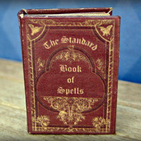 The Standard Book of Spells in dollhouse miniature 1/12 inch scale