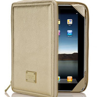 MICHAEL Michael Kors Jet Set iPad Case, Metallic Gold - Michael Kors