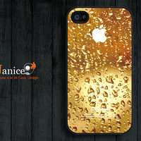 raindrop  iphone case iphone 4s case iphone 4 case  iphone 4 cover  unique Iphone case
