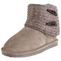 Bearpaw Cable Knit Boot (Little Kid/Big Kid)