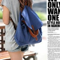 Korea Fashion Dual-Use Canvas Bag China Wholesale - Everbuying.com