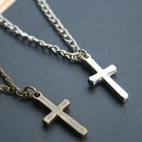 Fashion Cross Pendant Chain Necklace at Online Cheap Fashion Jewelry Store Gofavor