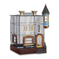 Amazon.com: Featherstone Heights Brownstone Bird Cage 293: Pet Supplies