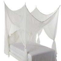 Amazon.com: Heavenly 4 Post Bed Canopy, White: Home & Kitchen