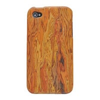 Rainbow Wooden Case For Iphone4/4s on Luulla