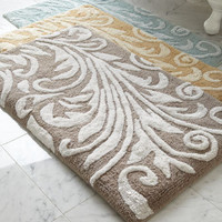 Kassatex - &quot;Bedminster Scroll&quot; Bath Rug - Horchow