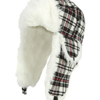 Buffalo Plaid Trapper - Teen Clothing by Wet Seal