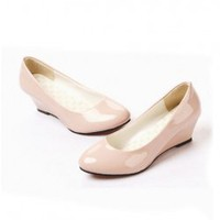 Hot Sales Classic Candy Color Wedges Shoes For Women  - Sammydress.com