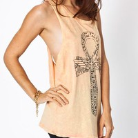 distressed-graphic-ankh-tank BLACK SHERBET - GoJane.com