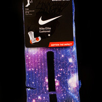 "Thesockgame.com — Jordan ""Moon Man"" Galaxy Elites - Custom Nike Elite Socks"