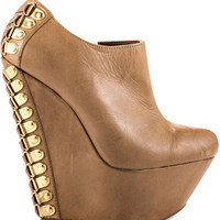 Betsey Johnson Maysy - Taupe Leather