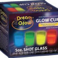 Dream Glow Set Of 4 1.5oz Shot Glasses (GLOW UPTO 6 HOURS)