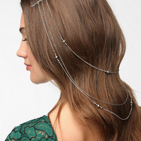 Urban Outfitters - Double Drape-Chain Bead Bobby Pin