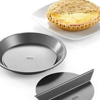 Chicago Metallic Split Decision Pie Pan - Bakeware - Kitchen - Macy&#x27;s