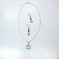 Handmade Jewelry Set with Star of David