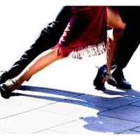 Blue Tango Giclee Print by Michele Roohani at AllPosters.com