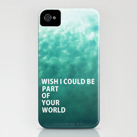 Part of Your World iPhone Case by RichCaspian | Society6