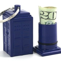 TARDIS Emergency Fund Keychain