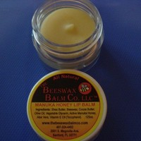 Manuka Honey Lip Balm by Beeswaxbalmlady1 on Etsy