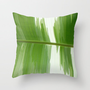 Garden Stripes Throw Pillow by Rosie Brown | Society6