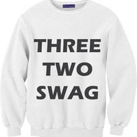 Three, two, swag