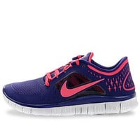 Nike Free Run+3 Womens Running Shoes 510643-401 Night Blue 7 M US