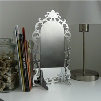 Acrylic Mirror Modern Design Rococo Style by Revisions on Etsy