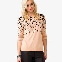 Wool-Blend Cheetah Sweater | FOREVER 21 - 2000049625