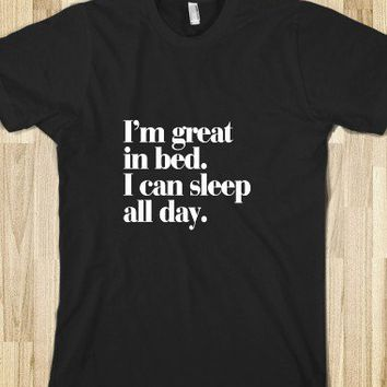 I'm great in bed. - Awesome fun #$!!*&