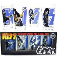 KISS, Glass Mug Set, Destroyer Retro