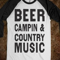 Beer Campin And Country Music (Baseball)
