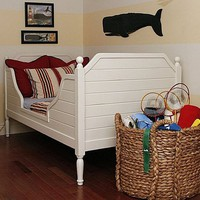 Nantucket Bed with Optional Distressed Finish by Bradshaw Kirchofer, Beds, Furniture for Children