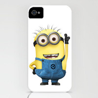 Minion  Despicable Me iPhone 4 case iPhone 4s Case by TICKandPICK
