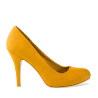 SHOES - WOMAN - Slovakia yellow