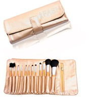 FASH Professional makeup Brush Set,12 pc, For Eye Shadow, Blush, Eyeliner,eyebrow....
