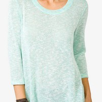 Marled Open Knit Top | FOREVER 21 - 2021390463