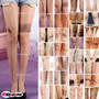 Trendy Sexy Tattoo Pattern Temptation Sheer Pantyhose Tights Stockings Leggings