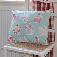 cupcake cushion by flax & finch | notonthehighstreet.com