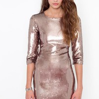 Derora Sequin Dress in What&#x27;s New at Nasty Gal