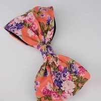 floral print bow hair clip $16.90 in CRLMLT - Hair | GoJane.com