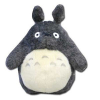 *Grey* Totoro Plush Doll -- Large