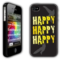 Amazon.com: iPhone 4/4s Case - Duck Dynasty - Happy, Happy, Happy - Black Protective Hard Case: Cell Phones & Accessories