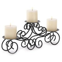 Amazon.com: Gifts & Decor Tuscan Candle Holder Wrought Iron Wedding Centerpiece: Home & Kitchen