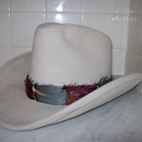Country Western Cowboy Hat Hush Puppies Brand