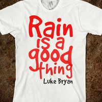 Rain Is A Good Thing - Michelle&#x27;s shirts!