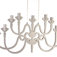 Candelabra Pendant - Matt Blatt