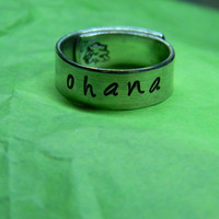 PRE ORDER the original  Ohana  aluminum wrapped by LindaMunequita