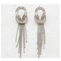 Korea Style Elegant Tassel Encircle Line Earring China Wholesale - Sammydress.com