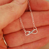 Infinity Necklace promotion by TeriLeeJewelry on Etsy