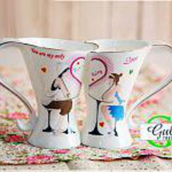 Birthday Gift Couples Matching Cups - GULLEI.COM